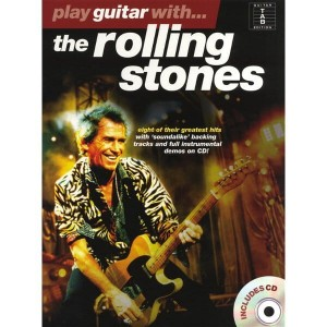 Play Guitar With The Rolling Stones - nuty na gitarę (+ płyta CD)