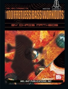 Qwikguide: 100 Fretless Bass Workouts - Matheos (+ audio online)