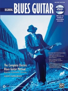 Complete Electric Blues Guitar Method: Beginning Blues Guitar - szkoła bluesa na gitarę elektryczną (+ płyta DVD) - David Hamburger