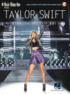 Taylor Swift - Sing 8 Favorites (+ audio online) - piosenki Taylor Swift - nuty na głos z fortepianem