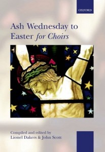 Ash Wednesday to Easter for Choirs - nuty na chór SATB