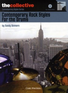 Contemporary Rock Styles For The Drums (+ płyta CD) - Sandy Gennaro - nuty na perkusję