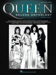 Queen: Deluxe Anthology (Updated Edition) - melodia, nuty na fortepian, akordy gitarowe i słowa
