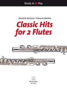 Ready to Play - Classic Hits for 2 Flutes - nuty na duety fletowe