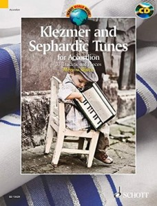 Klezmer and Sephardic Tunes For Accordion (+ płyta CD) - Merima Kljuco - nuty na akordeon
