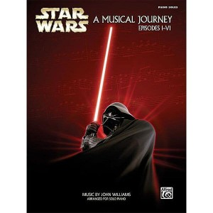 Star Wars: A Musical Journey Episodes I-VI (Piano Solos) - John Williams - Gwiezdne Wojny nuty na fortepian solo