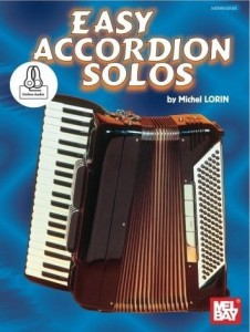 Easy Accordion Solos (+ audio online) - Michel Lorin - łatwe utwory na akordeon