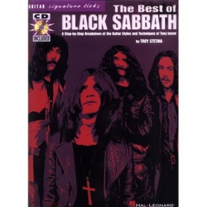 The Best of Black Sabbath - nuty i tabulatury na gitarę (+ płyta CD)