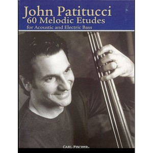 Patitucci - 60 Melodic Etudes For Acoustic And Electric Bass - nuty na kontrabas