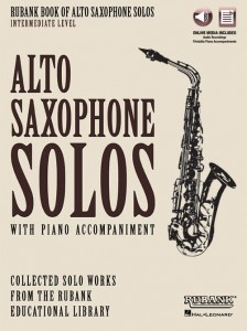 Rubank Book of Alto Saxophone Solos - Intermediate Level (+ audio online) - nuty na saksofon altowy z fortepianem