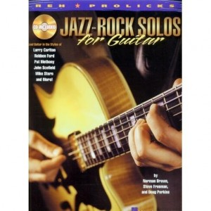 Jazz-Rock Solos for Guitar - Brown, Freeman, Perkins - nuty i tabulatury na gitarę elektryczną (+ płyta CD)