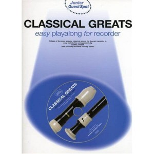 Junior Guest Spot: Classical Greats Easy Playalong for Recorder - nuty na flet prosty (+ płyta CD)