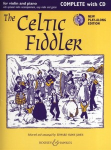 The Celtic Fiddler - Huws Jones - nuty na skrzypce i fortepian (+ płyta CD)