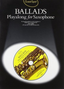 Guest Spot: Ballads Playalong For Saxophone - nuty na saksofon altowy (+ płyta CD)