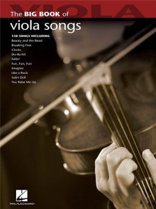 The Big Book Of Viola Songs - nuty na altówkę solo