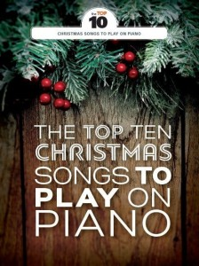 The Top Ten Christmas Songs To Play On Piano - nuty na fortepian, melodia, akordy gitarowe, tekst