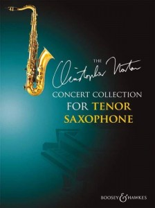 Christopher Norton Concert Collection for Tenor Saxophone - nuty na saksofon tenorowy z fortepianem