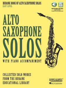 Rubank Book of Alto Saxophone Solos - Easy Level (+ audio online) - nuty na saksofon altowy z fortepianem