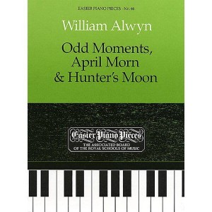 William Alwyn: Odd Moments, April Morn & Hunter's Moon - nuty na fortepian