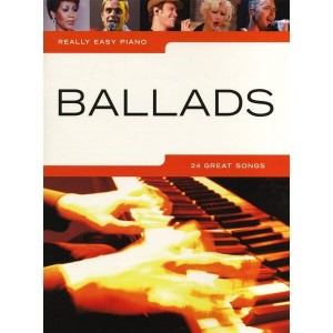 Really Easy Piano: Ballads - nuty na fortepian