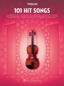 101 Hit Songs: Violin - nuty na skrzypce