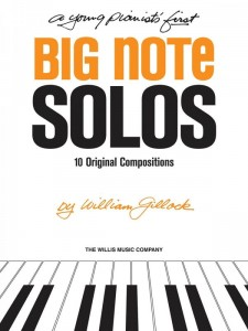William Gillock: A Young Pianist's First Big Note Solos - nuty na fortepian