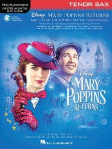 Mary Poppins Returns: Tenor Sax - nuty na saksofon tenorowy (+ audio online)