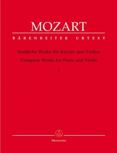 Mozart: Complete Works for Violin and Piano Volume 1 - nuty na skrzypce i fortepian