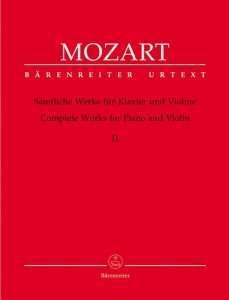 Mozart: Complete Works for Violin and Piano Volume 2 - nuty na skrzypce i fortepian