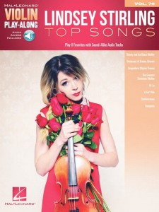 Lindsey Stirling Top Songs - Violin Play-Along Volume 79 - nuty na skrzypce (+ audio online)