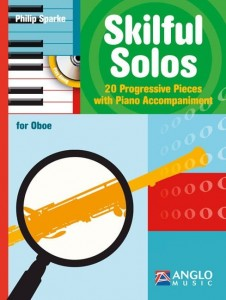 Sparke - Skilful Solos for Oboe - 20 Progressive pieces with Piano Accompaniment (+ płyta CD) - nuty na obój z fortepianem