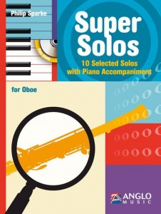 Sparke - Super Solos for Oboe - 10 Selected Solos with Piano Accompaniment (+ płyta CD) - nuty na obój z fortepianem