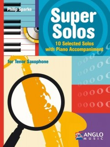 Sparke - Super Solos for Tenor Saxophone - 10 Selected Solos with Piano Accompaniment (+ płyta CD) - nuty na saksofon tenorowy z fortepianem - księgarnia muzyczna Alenuty.pl