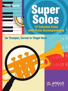 Sparke - Super Solos for Trumpet - 10 Selected Solos with Piano Accompaniment (+ płyta CD) - nuty na trąbkę z fortepianem