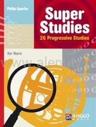 Sparke - Super Studies for Horn - 26 Progressive Studies - etiudy na róg (waltornię)