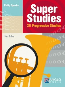 Sparke - Super Studies for Tuba - 26 Progressive Studies - etiudy na tubę