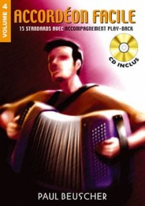 Accordeon facile Volume 4 (+ płyta CD) - nuty na akordeon