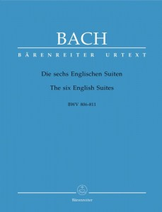 Bach J.S. - The six English Suites BWV 806-811 - Suity angielskie - nuty na fortepian