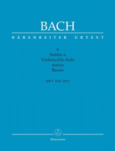 Bach J.S. - Six Suites a Violoncello Solo senza Basso BWV 1007-1012 - Scholarly-critical performing edition - Suity wiolonczelowe Bacha - nuty na wiolonczelę solo