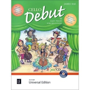 Cello debut - 12 utworów na wiolonczelę dla najmłodszych dzieci