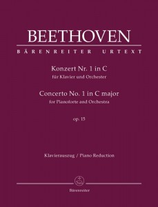 Beethoven: Concerto No. 1 in C major for Pianoforte and Orchestra op. 15 - I koncert fortepianowy C-Dur Beethovena - nuty na dwa fortepiany