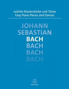 Bach J.S. - Easy Piano Pieces and Dances - nuty na fortepian