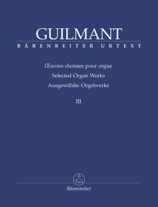 Guilmant: Selected Organ Works Volume 3 - nuty na organy