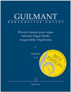 Guilmant: Selected Organ Works Volume 1 - Sonates 1-4 - nuty na organy