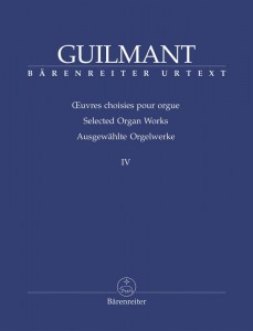 Guilmant: Selected Organ Works Volume 4 - nuty na organy