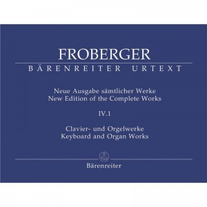Froberger: Keyboard and Organ Works from Copied Sources - Partitas and Partita Movements Part 2 - nuty na organy (fortepian, klawesyn)