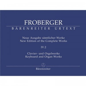 Froberger: Keyboard and Organ Works from Copied Sources - Partitas and Partita Movements Part 3 - nuty na organy (fortepian, klawesyn) - księgarnia muzyczna Alenuty.pl
