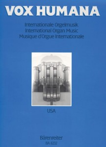 Vox humana: International organ music 2 - USA - nuty na organy