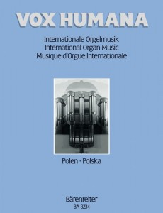 Vox humana: International organ music 4 - Poland - nuty na organy