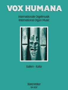 Vox humana: International organ music 7 - Italy - nuty na organy